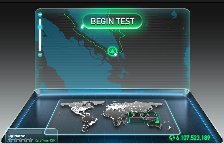 Cara Tes Kecepatan Akses Internet dengan Website Speedtest.net