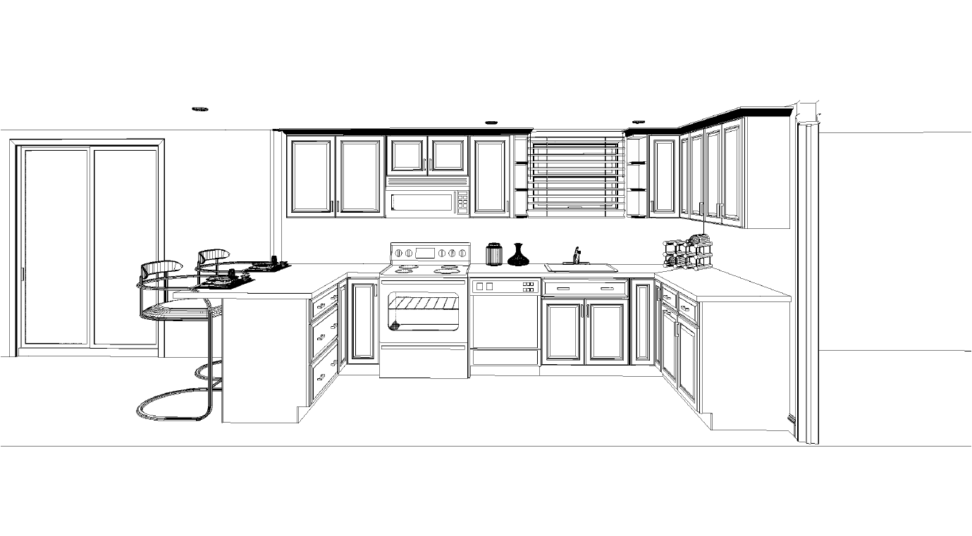 Common Kitchen Layouts With Astonishing Outcome My Kitchen