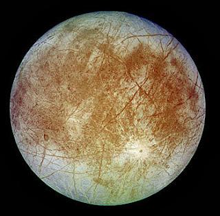 Europa - One of Jupiter's moons
