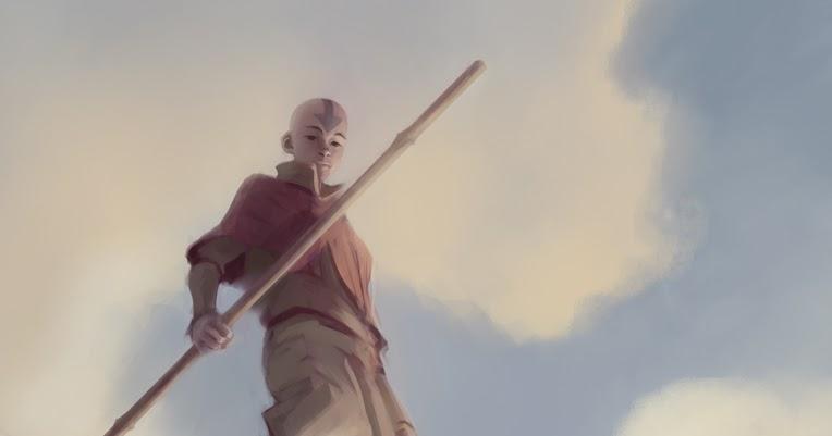 Dibujo de Avatar Aang - Bryan Konietzko | Estado Avatar: La Leyenda ...