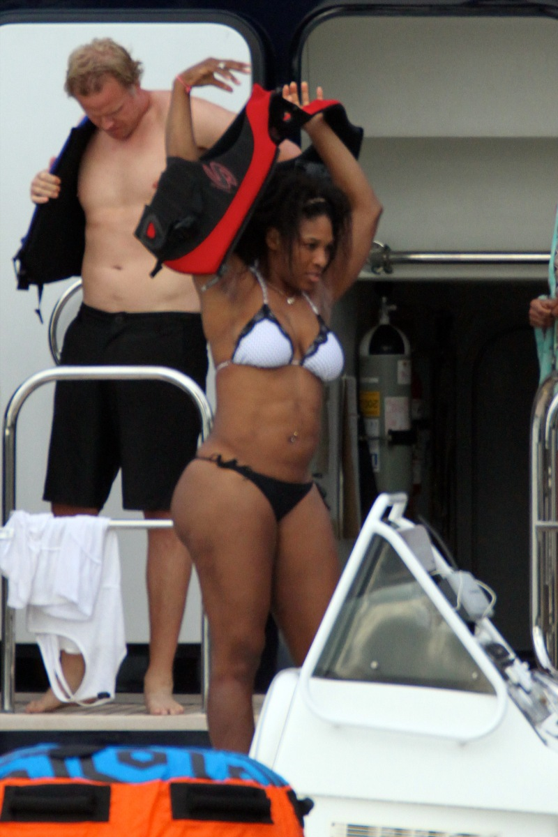 HOT POSE SILVINA ESCUDERO: Serena Williams en Bikini