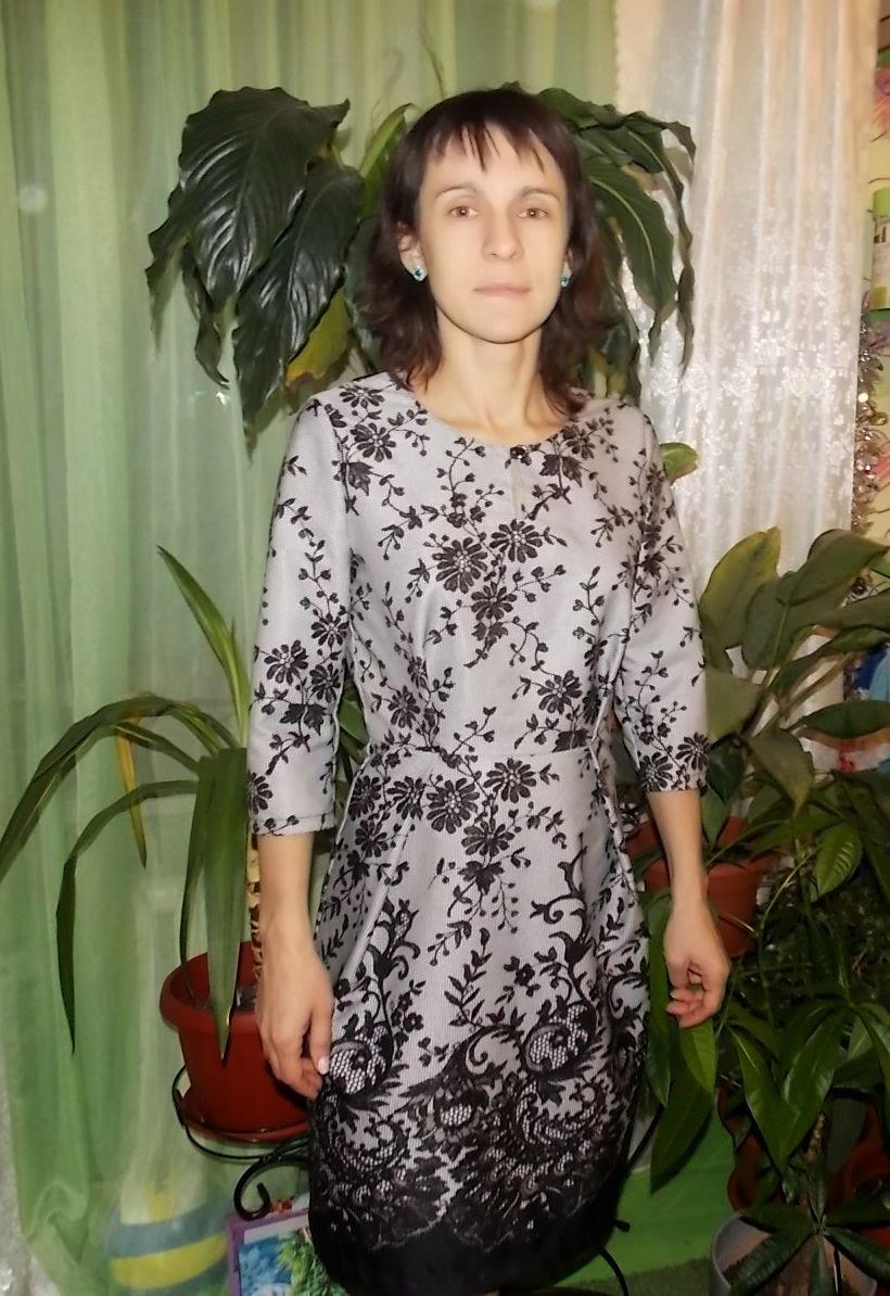 Шью себе новогоднее платье