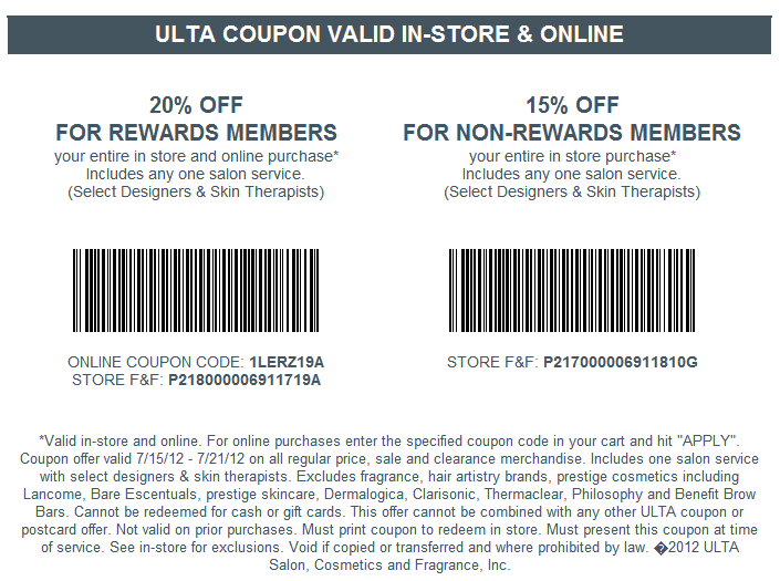 Ulta Store Coupon 4 Wheel Parts Discount Code Military