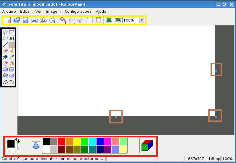 Programa de pintura kolourpaint linux educacional - Programa para pintar ...