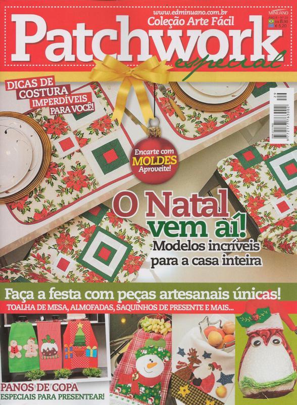 Patchwork, Patchwork natal, Maria Adna Ateliê, Patchwork publicado