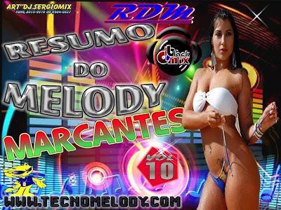 CD RESUMO DO MELODY VOL.10 MARCANTES