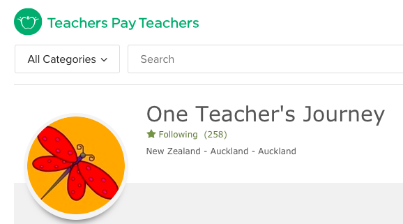 My TeachersPayTeachers Store