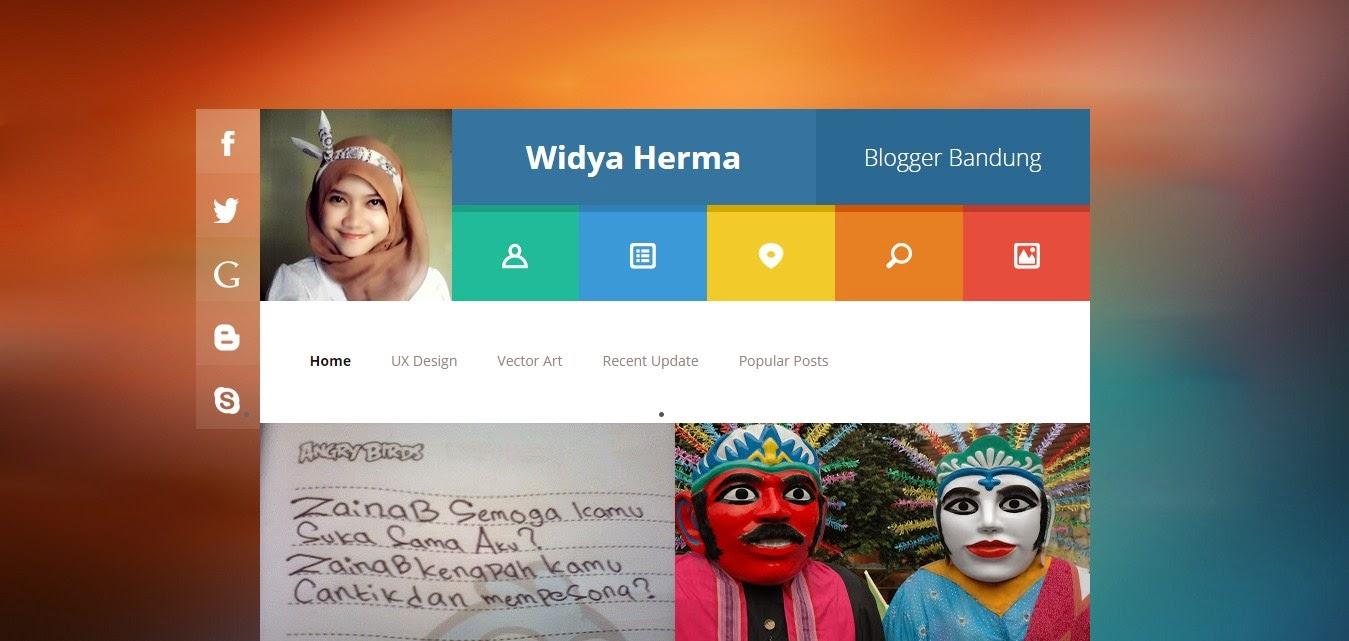 Template Blogspot SEO Friendly yang Responsive di blog Widya Herma yang Dulu