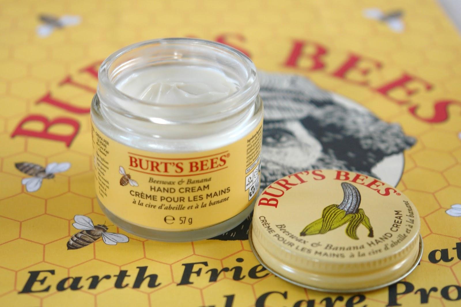 Burt's Bees Beeswax & Banana Hand Cream review