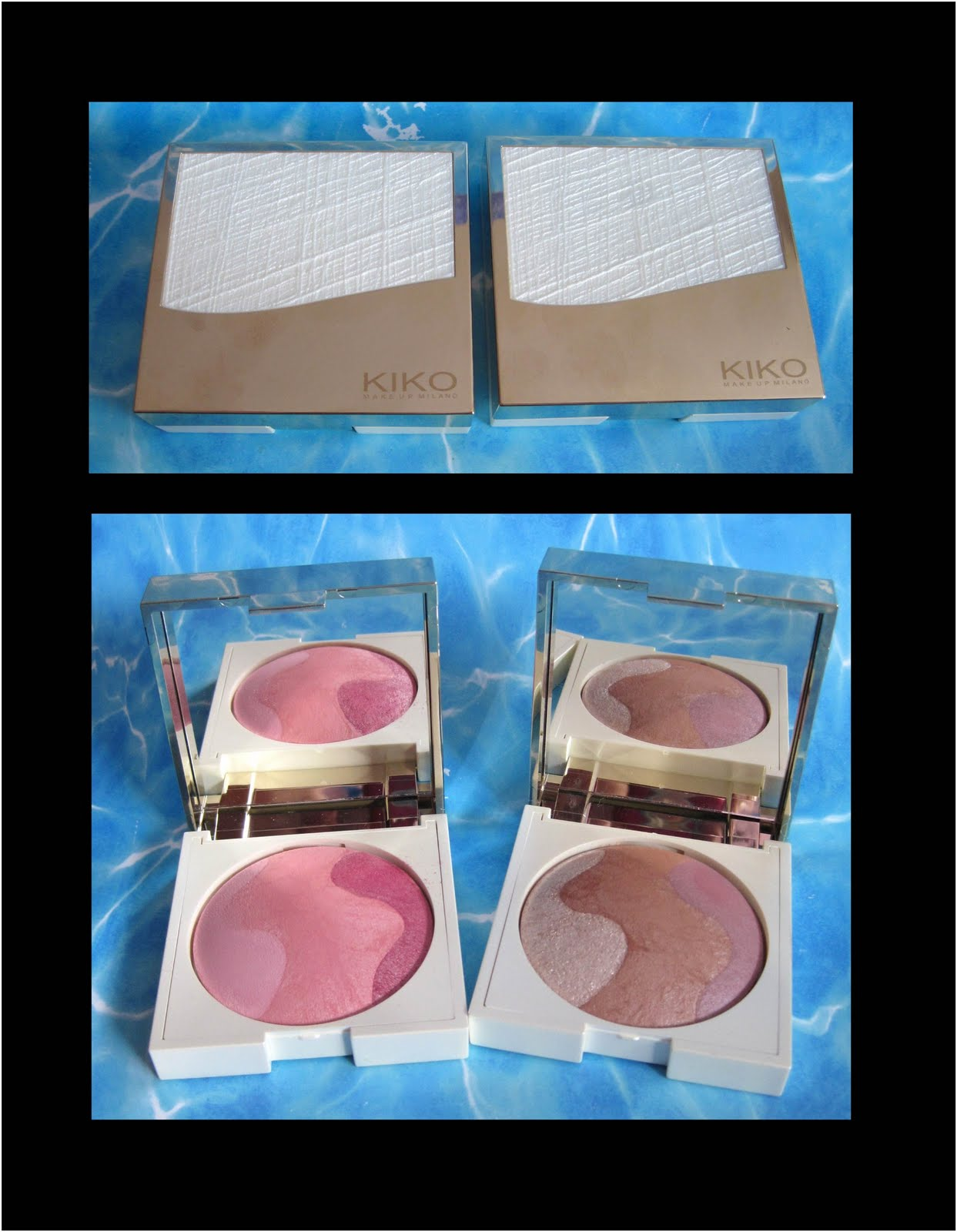 kleinesmau make up blog kiko sun bronzing trio haul. Black Bedroom Furniture Sets. Home Design Ideas