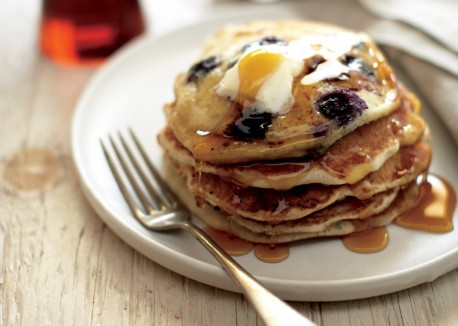 http://www.vegetariantimes.com/recipe/blueberry-sourdough-pancakes/
