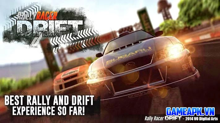 Rally Racer Drift v1.23 hack full tiền cho Android