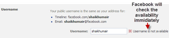 Facebook-Username-Availability