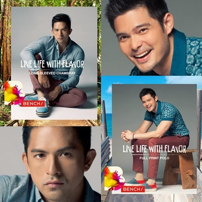 Dingdong Dantes and Dennis Trillo for Bench Summer 2014