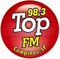 Rádio Top FM de Campinas SP e Hortolândia ao vivo