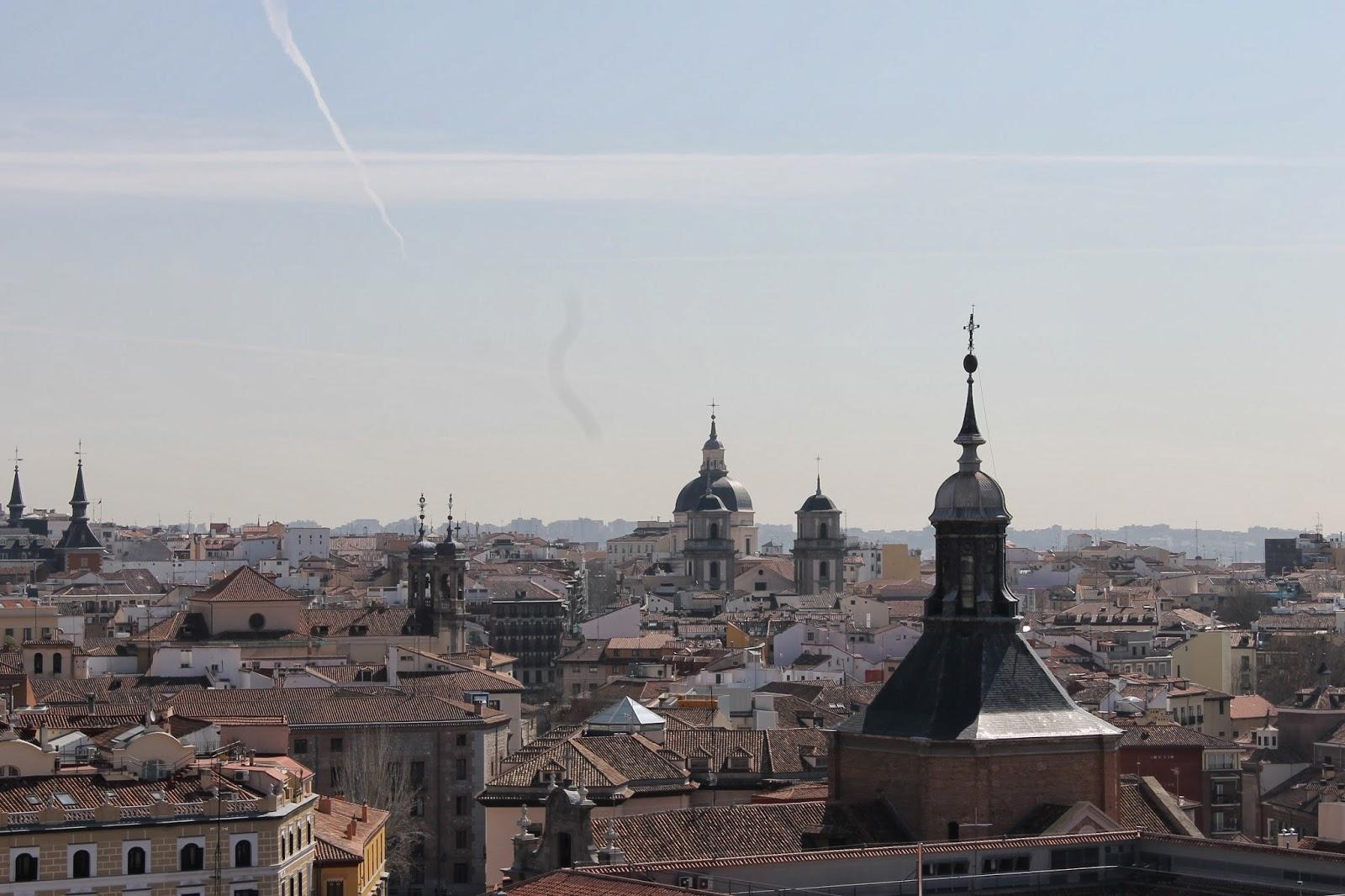 MADRID, DESDE LA CÚPULA DE LA ALMUDENA | Manuelblas.Madrid