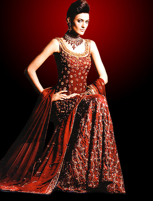 Indian wedding dresses for girls bridal jewellery for Indian wedding dresses for girls