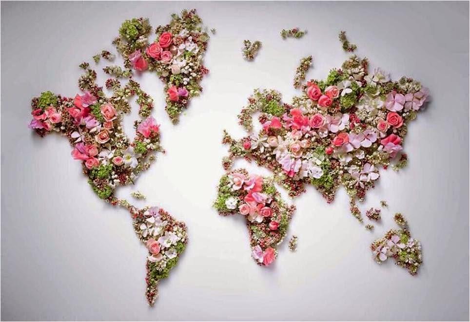 Mundo de paz e amor!