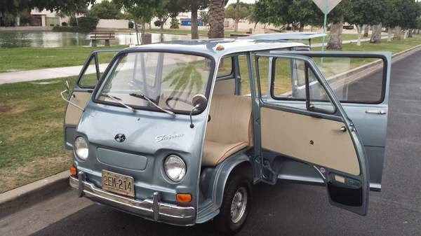 1970 subaru 360 sambar micro van auto restorationice. Black Bedroom Furniture Sets. Home Design Ideas