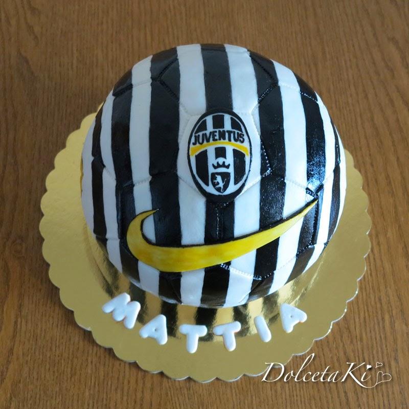 torta pallone juve