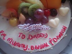 Cake Birthday hubby
