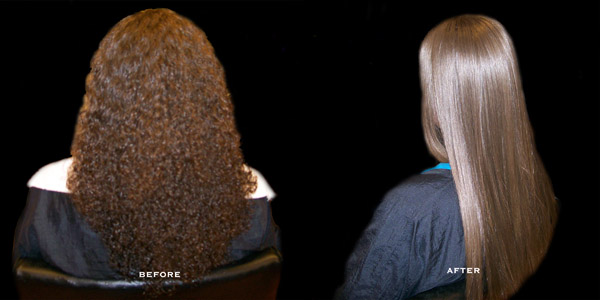 The gallery for \u0026gt; Keratin Treatment Before And After