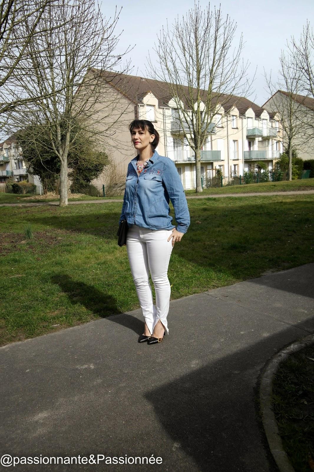 détails jeans