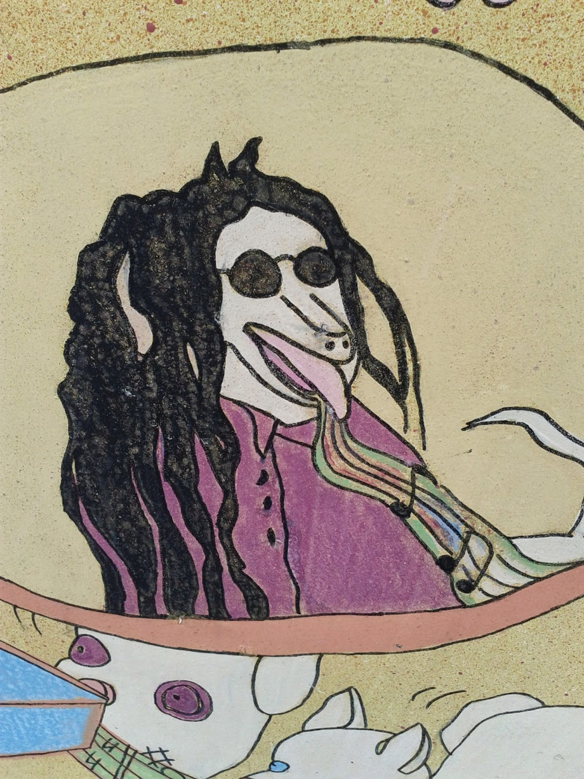 Howard Stern cartoon picture
