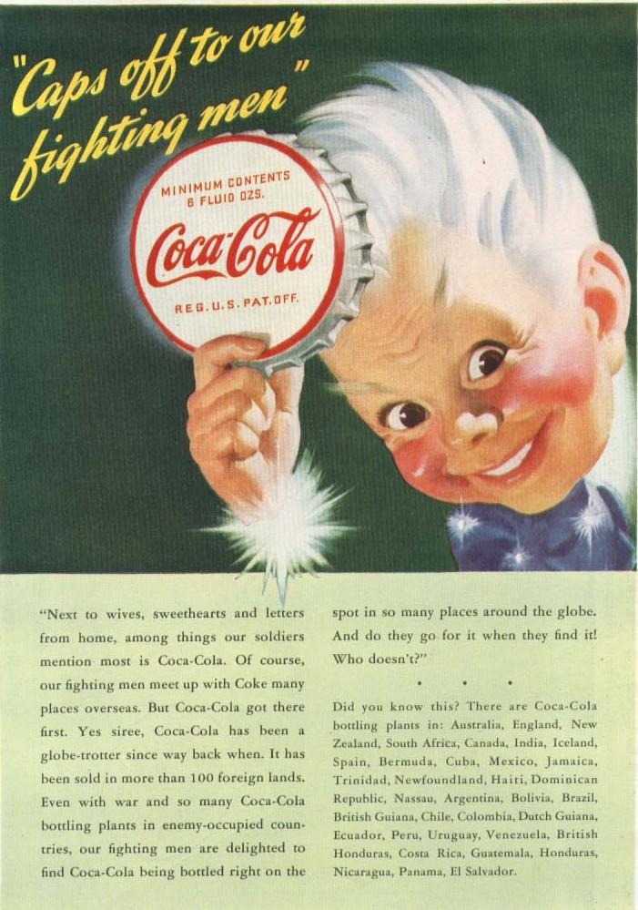 Atomic Cafe Vintage Coca Cola Ads