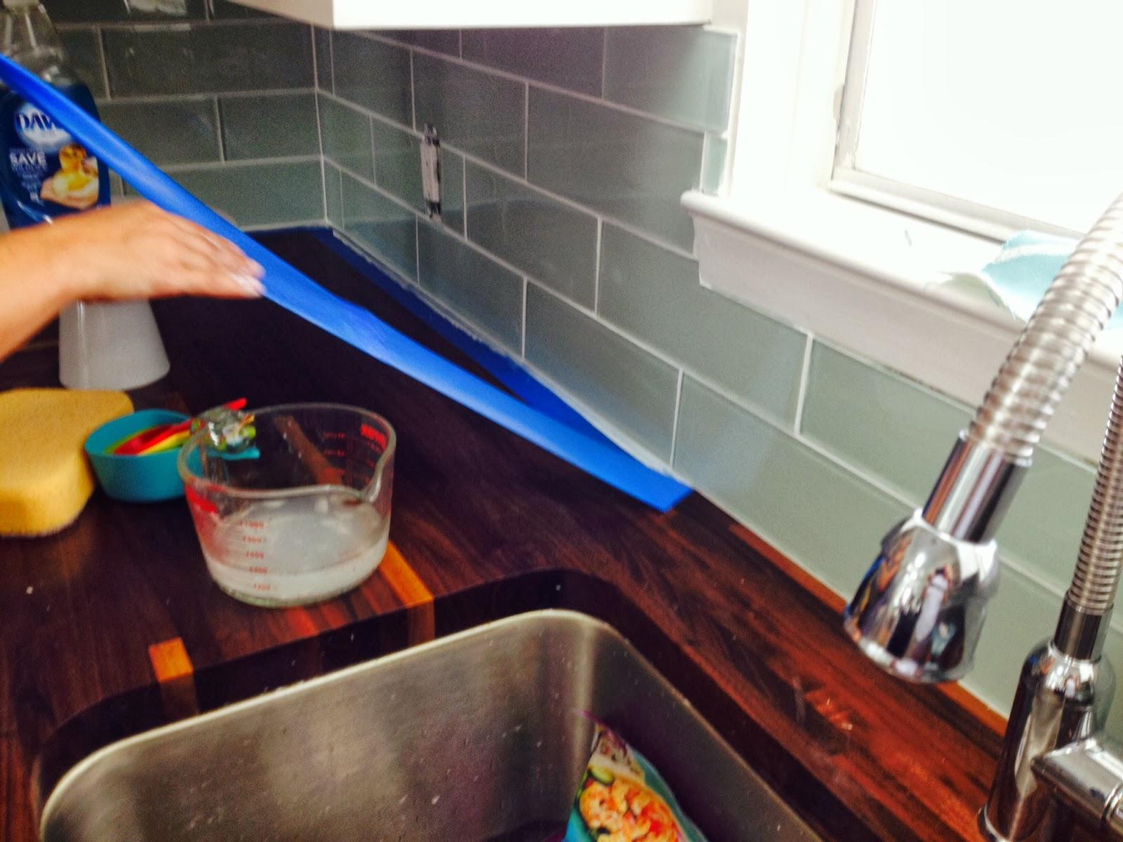 Fishermans Wife Furniture Glass Tile Backsplash