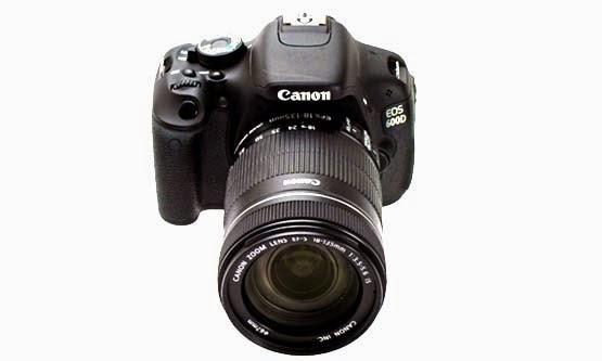 Harga Kamera DSLR Canon EOS 600D dan Spesifikasi Lengkap Terbaru