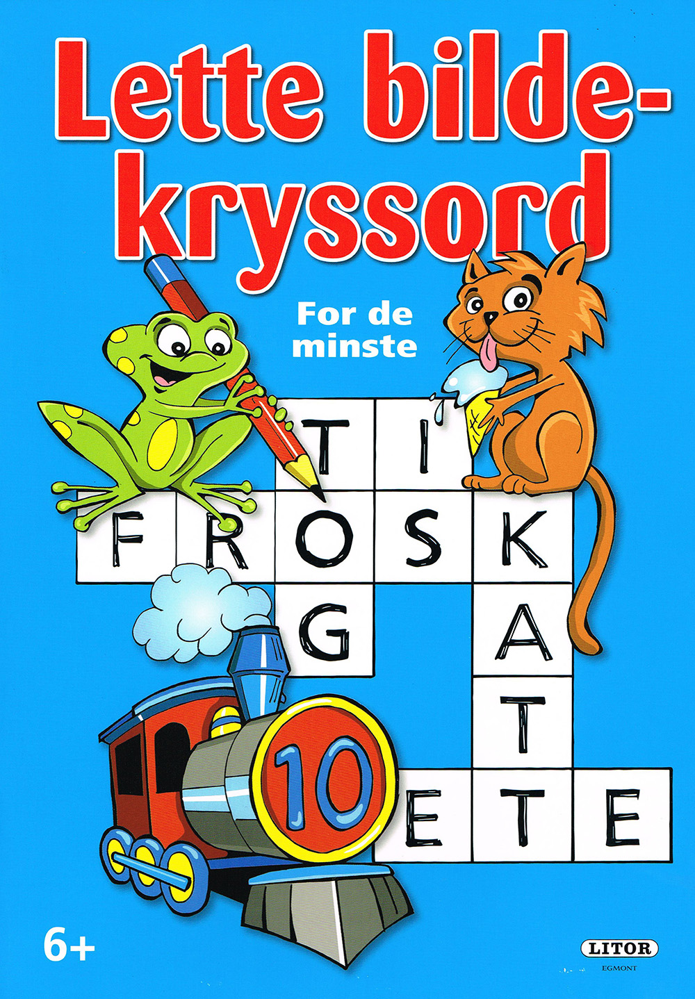 Kryssord for barn, illustrasjon barn