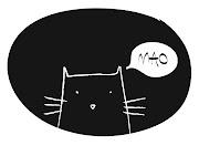 gatto nero su fondo nero. Pubblicato da Petit Pos Rose a 03:03 Nessun .