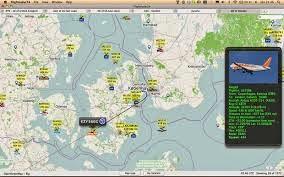 برنامج  FLIGHSTATS متابعة  الطائرات من الاقلاع الى الهبوط