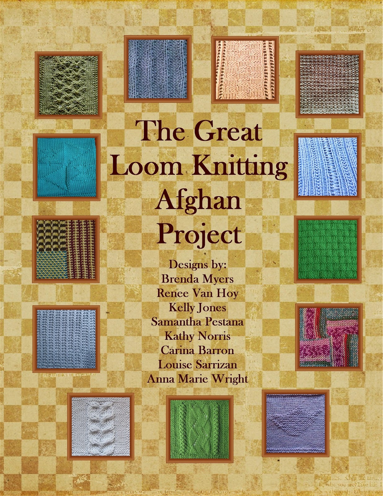 Loom Knit Afghan Pattern : Invisible Loom Innovative Patterns for Loom Knitters: Afghan Book Pre-view
