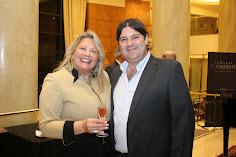 Silvia Ramos de Barton y Leonardo Puppato