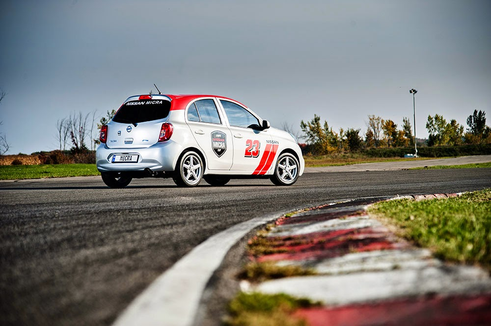 Nissan Micra Cup Car rear