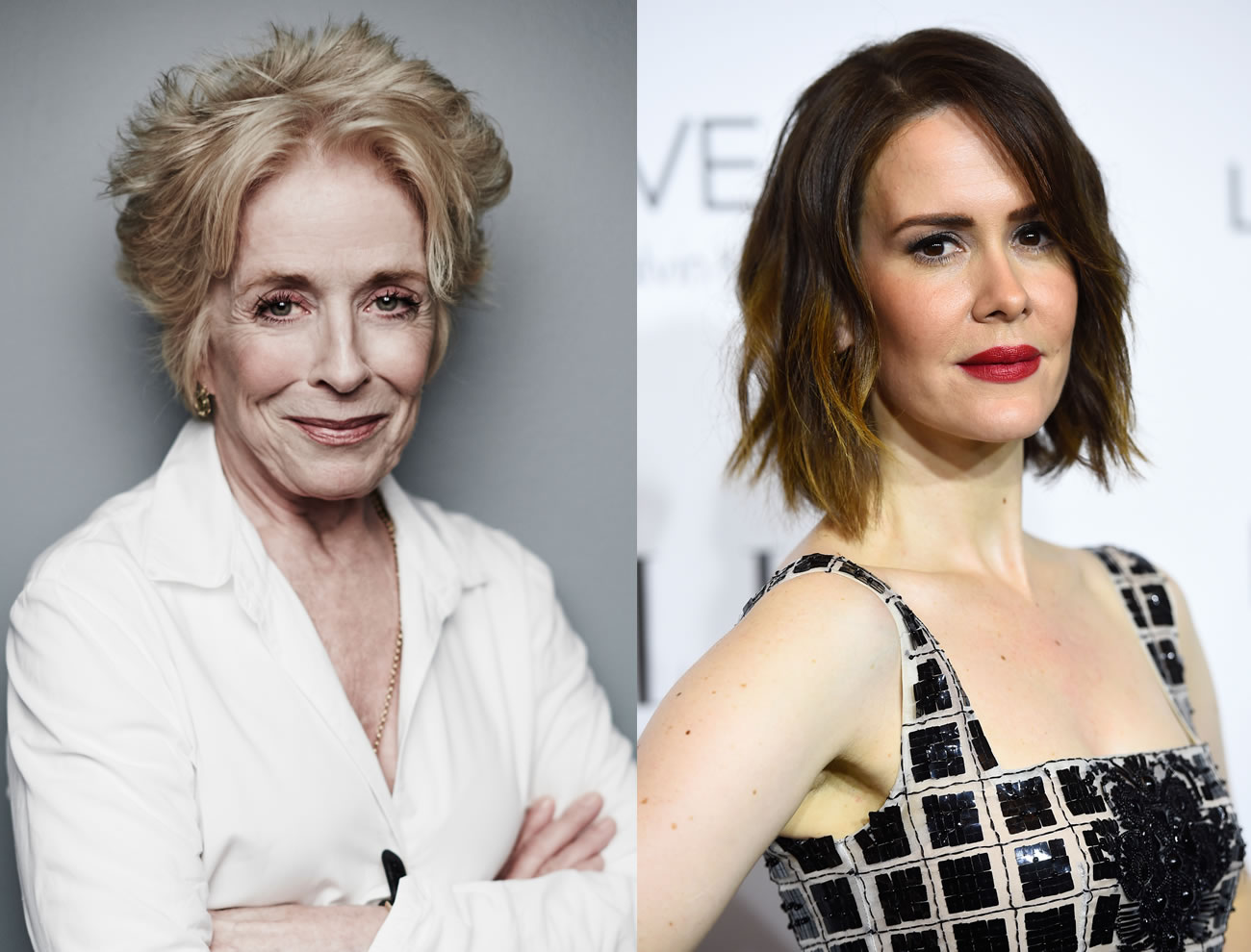 Holland Taylor, de Two And a Half Men, pode estar namorando a atriz Sarah Paulson