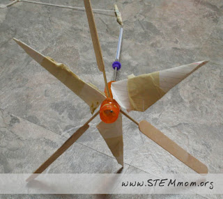 Student example 1 of Wind Turbine: from STEMmom.org