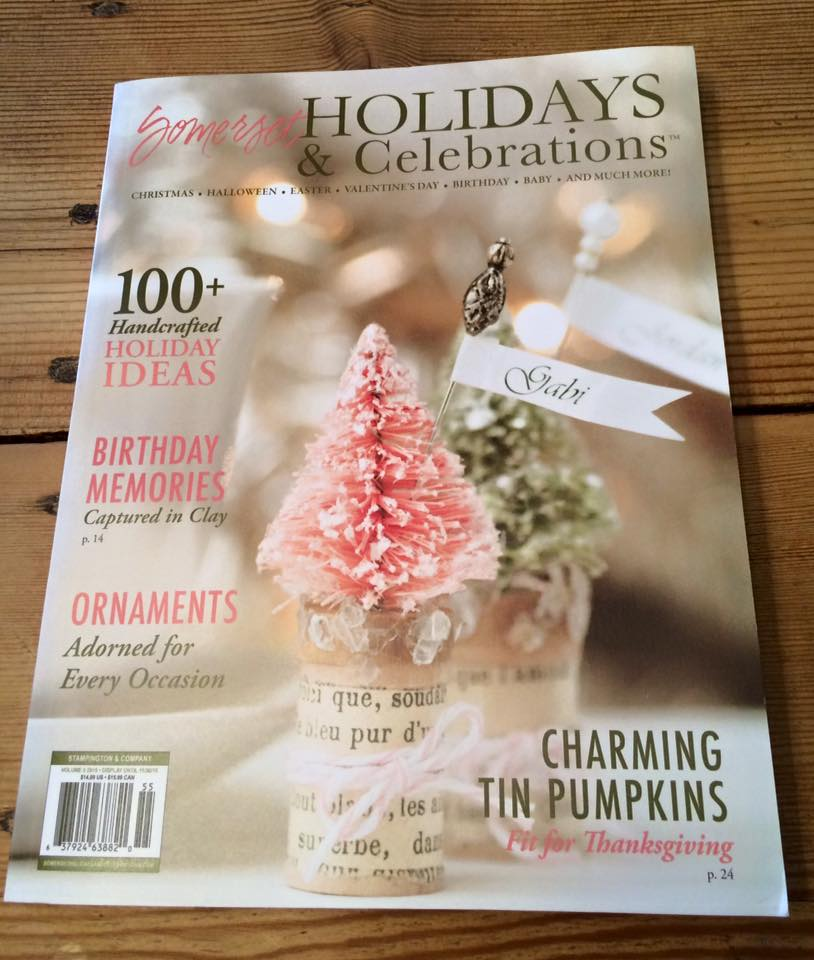 Thrilled to have my Halloween ornament published in the 2015 issue of Holidays & Celebrations