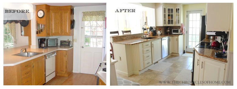 Budget kitchen renovation the home depot - Home depot paint for kitchen cabinets ...