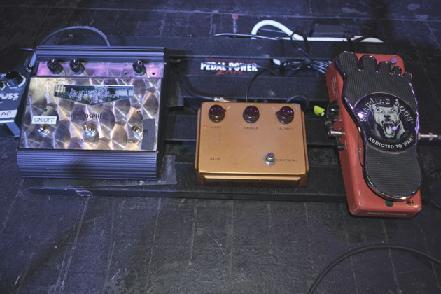 Klon Centaur Jeff Beck pedalboard
