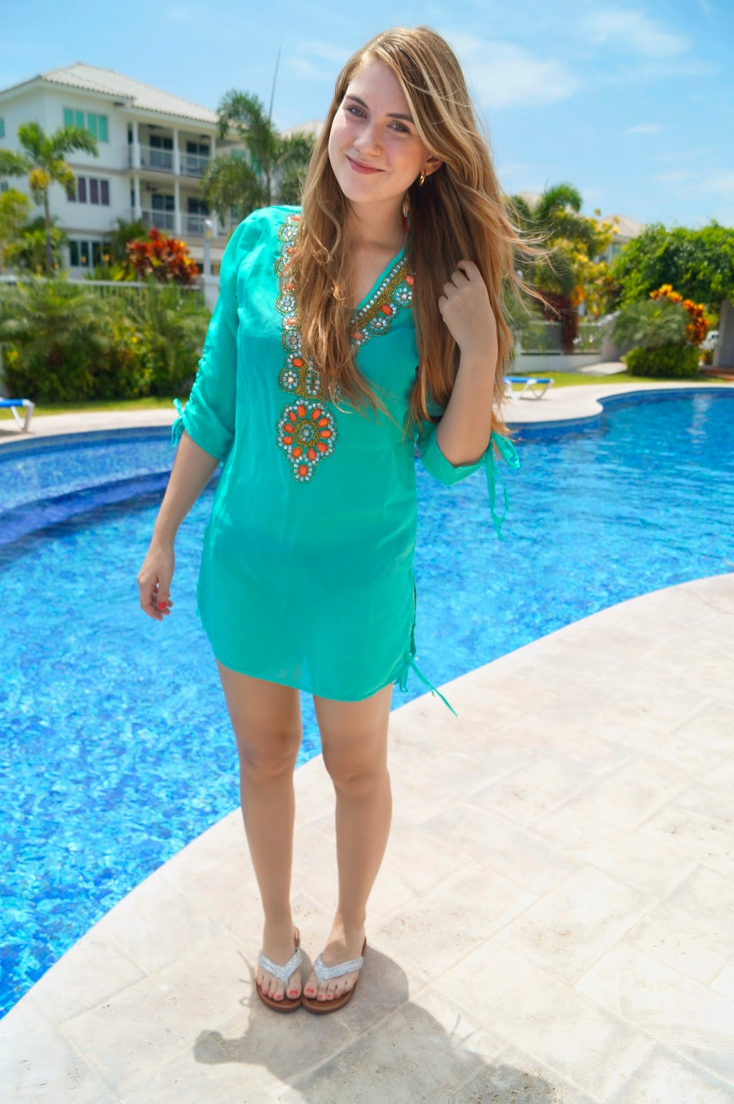 Beach Outfit, Pool Outfit, Swimsuit Coverup, Stevens Panama