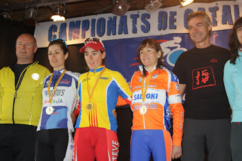 PLATA CAMPIONATS CATALUNYA BTT MARATHON 2012