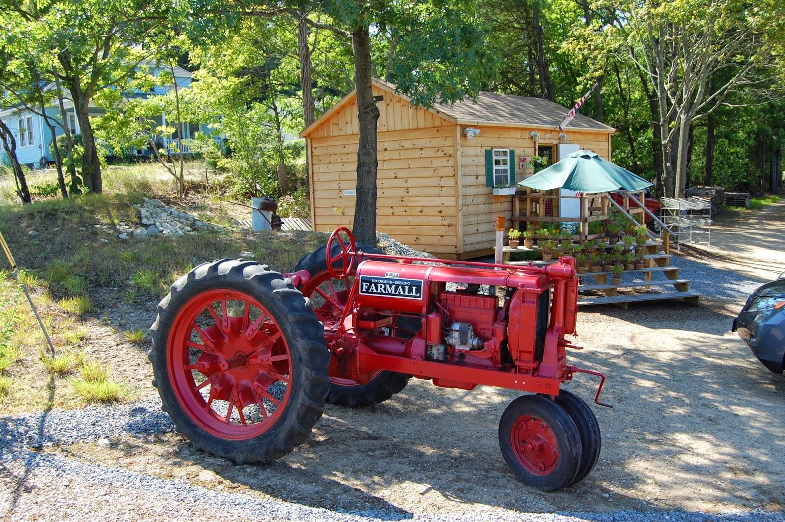 Akin Bak Farm is on RT 140 in Franklin