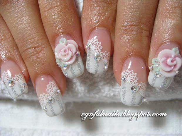 nail art bridal