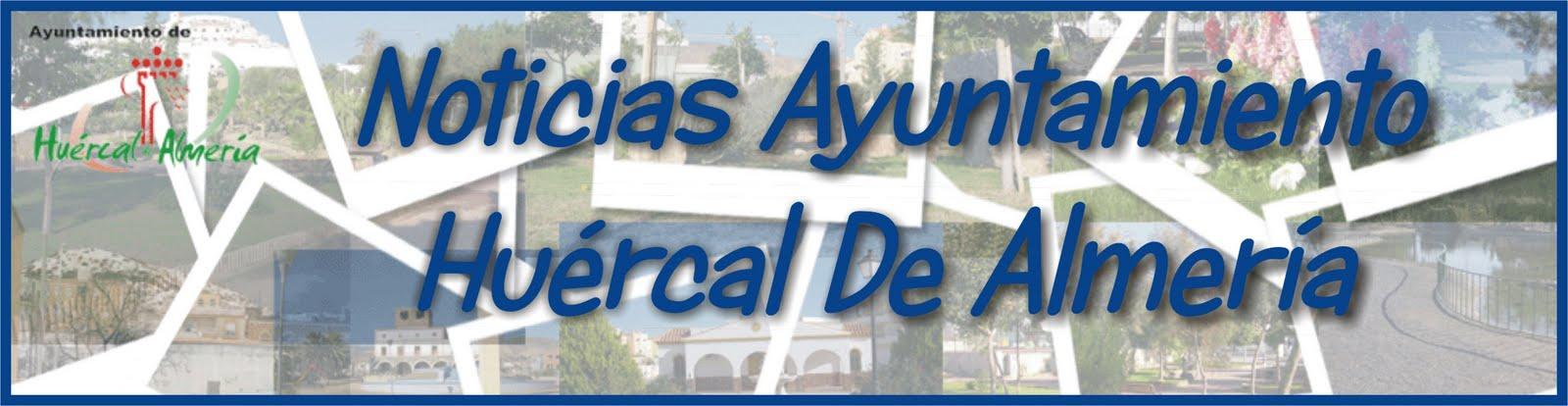 Blog de noticias ayuntamiento Huércal de Almería