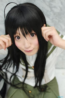 Busu Kawaii cosplay as Shakugan no Shana