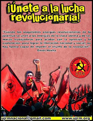 ¡Unete a la lucha revolucionaria! UJRM