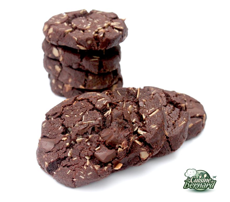 Recette gateau au chocolat amande effilee